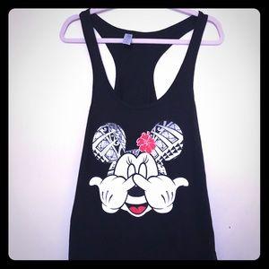Disney Minnie Mouse Razor back Tank Top